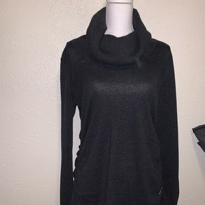 Michael Kors black turtleneck sweater